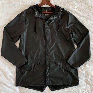 RAINS | Lightweight Hooded | Rain Jacket | Black